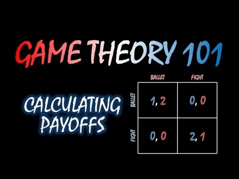 Game Theory 101 MOOC (#11): Calculating Payoffs