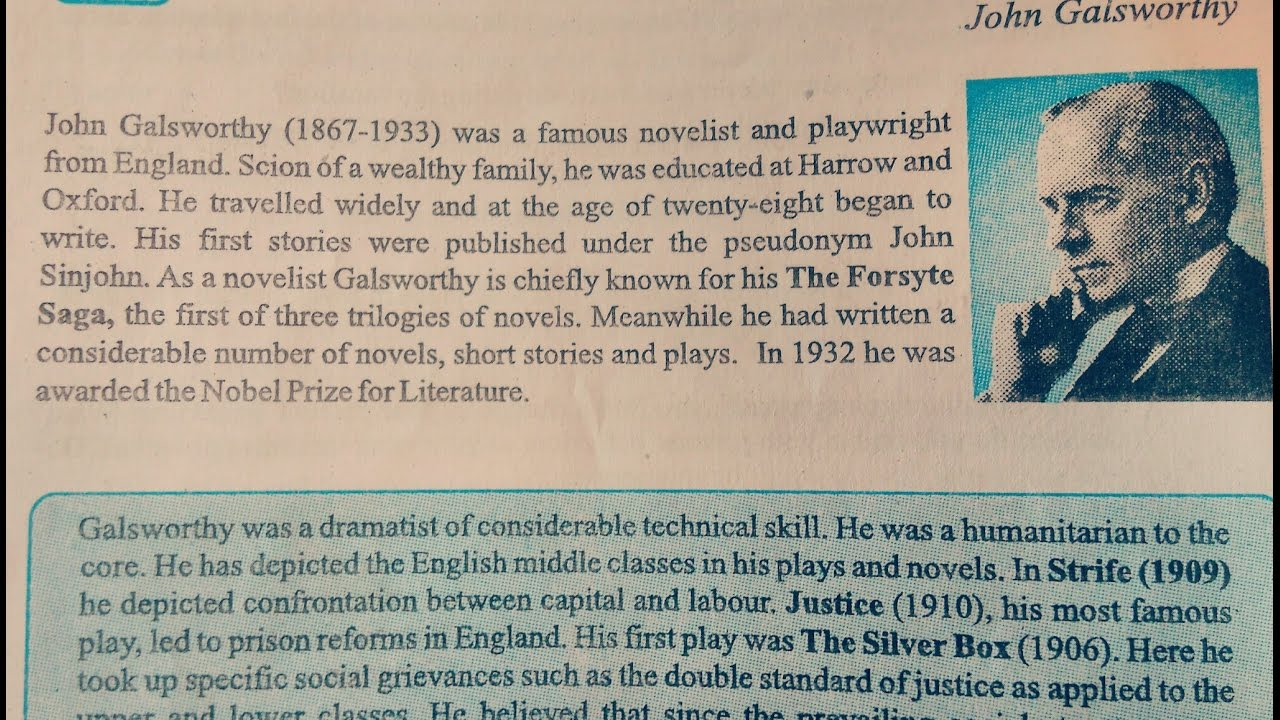 justice john galsworthy sparknotes