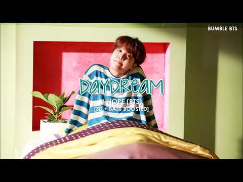 "[3D+BASS BOOSTED] J-HOPE (제이홉) - DAYDREAM (백일몽 ""HIXTAPE'') 
