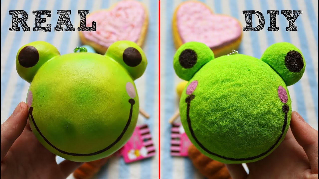 Real vs DIY Homemade Squishy Comparison! - YouTube