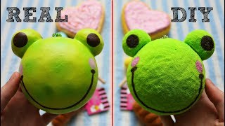 Real vs DIY Homemade Squishy Comparison!