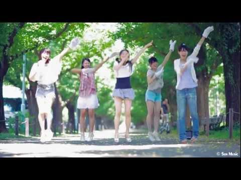 さんみゅ~(β)神宮外苑前でGOOD LUCKY!!!!!踊ってみた
