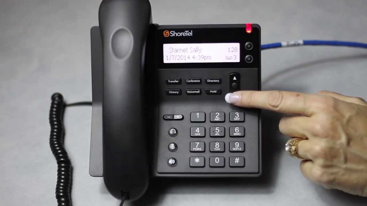 ShoreTel IP 420 Phone Overview