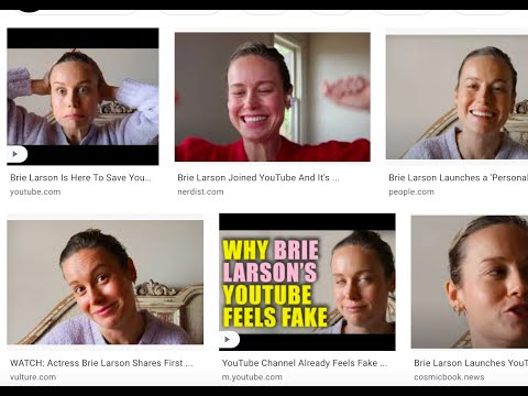 On The YouTube Wasteland Of Video Content That Are Stupid Attacks On Brie Larson - Except One