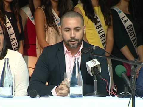 Presentación del Mister Internacional y Miss World Tenerife   Puerto de la Cruz