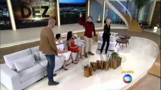 xuxa meneghel Ramsés x Moisés Sérgio Marone e Guilherme Winter duelam no palco da Xuxa 17 08 2015 mi