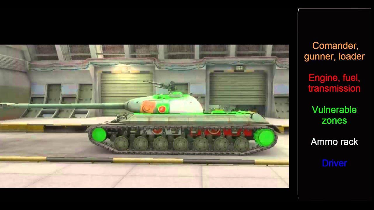 weak spot mod world of tanks