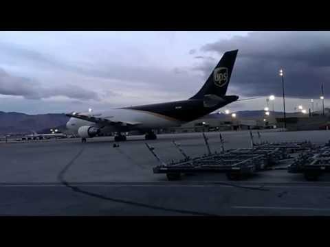 UPS Departure- Reno/Tahoe Airport