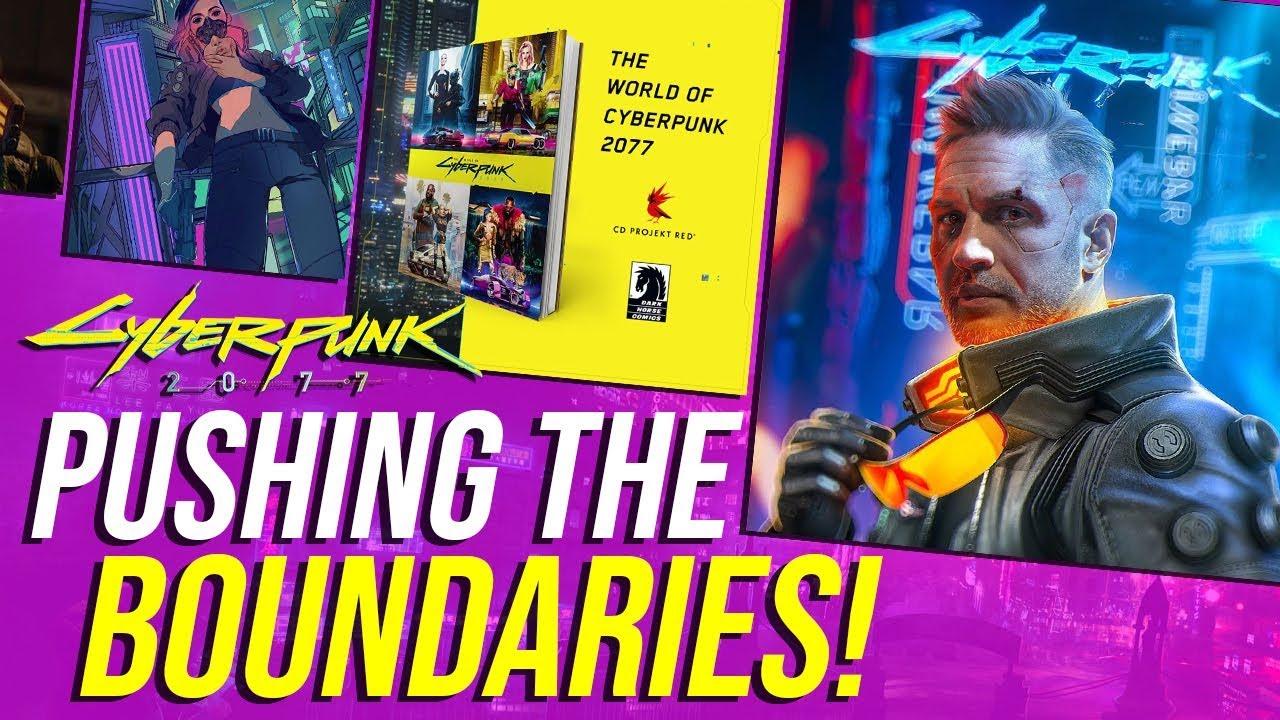 Cyberpunk 2077 News - Pushing Boundaries, 2077 Lore Book