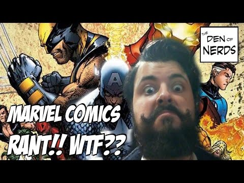 My Marvel Comics Rant: Why Marvel is Sucking and DC is Killing It! PLUS: Things Wrong with Comics...