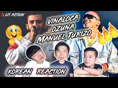 ENG🔥[LIT ACTION] Ozuna X Manuel Turizo - Vaina Loca (Korean Reaction)(Asian Reaction)