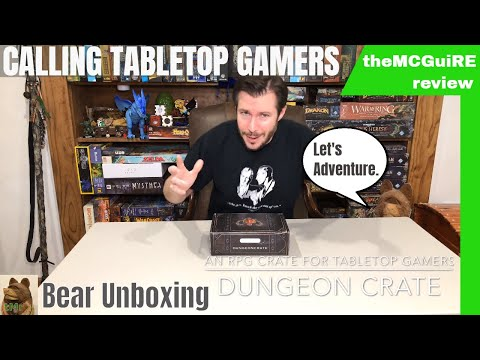 DUNGEON CRATE Review : A Crate For Tabletop Gamers