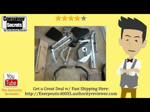 Thumbnail for Review Of The Exerpeutic 400XL Folding Recumbent Bike