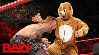 Download Heath Slater & Rhyno vs. The Miz and a bear: Raw, June 12, 2017 Mp3 and Videos