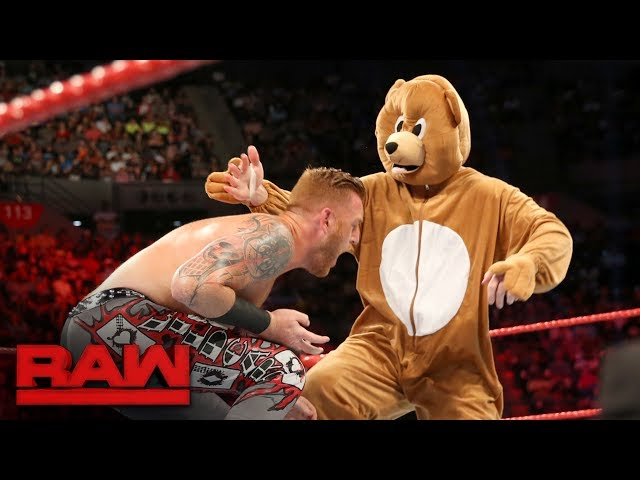 Heath Slater & Rhyno vs. The Miz and a bear: Raw, June 12, 2017