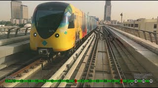 Dubai metro,  green line, Etisalat-Creek