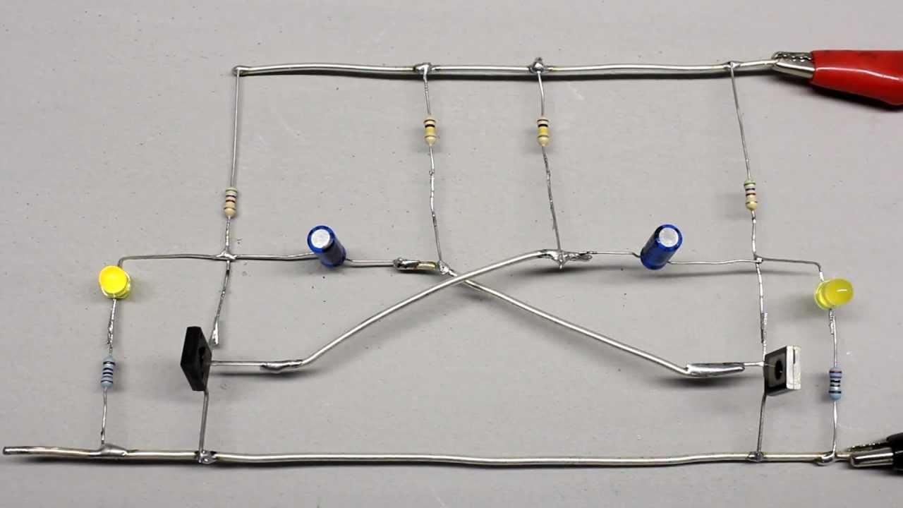 Working Principle Of Multivibrators Youtube Basic Astable 555 Timer Ic Flasher Ledandlightcircuit Circuit