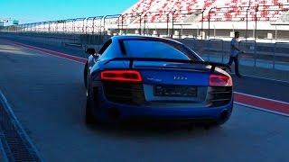 Тест драйв Audi R8 V10 LMX на Moscow Raceway. Пролог(Сегодня кое-что интересненькое! В конце сентября я ездил знакомиться с суперкаром на Moscow Raceway. Это был Ауди..., 2015-10-10T13:00:00.000Z)
