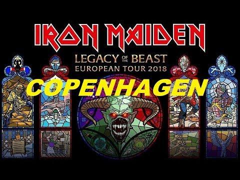 IRON MAIDEN - LIVE IN COPENHAGEN 2018