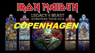 IRON MAIDEN - LIVE IN COPENHAGEN 2018