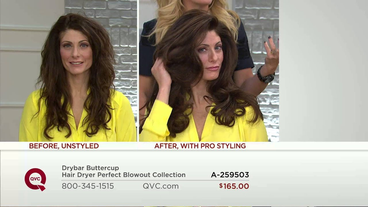 Drybar Buttercup Hair Dryer Perfect Blowout Collection With Dan Hughes