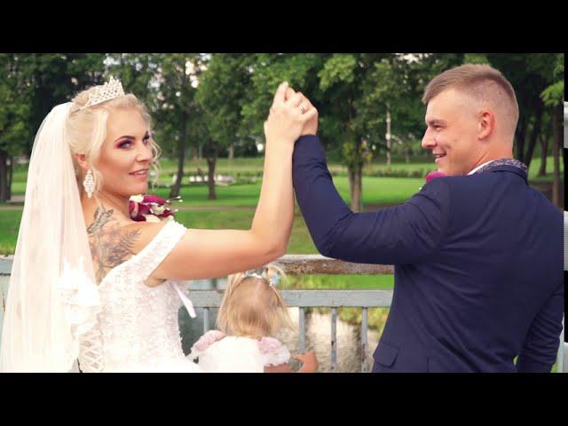 Kristinos ir Renaldo vestuvių akimirkos