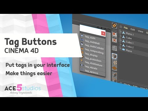 Tag Buttons » Cinema 4D