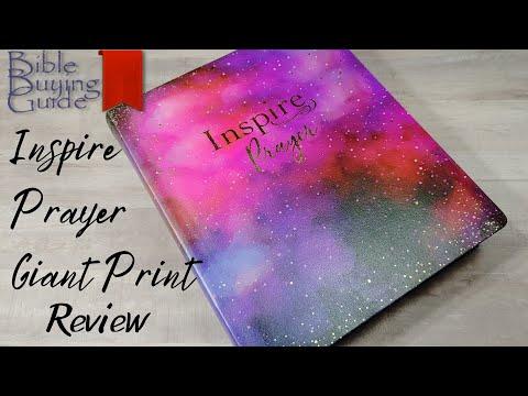 NLT Giant Print Inspire Prayer Bible Review