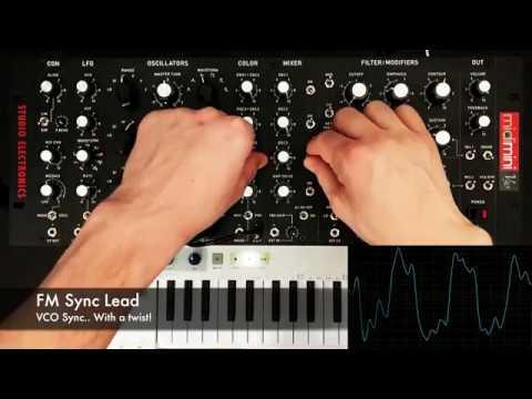 Studio Electronics Midimini V30 Demo With Patches [No Talking]