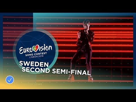 Benjamin Ingrosso - Dance You Off - Sweden - LIVE - Second Semi-Final - Eurovision 2018