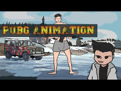 PUBG ANIMATION - FIRST TIME EXPERIENCE ON PUBG
