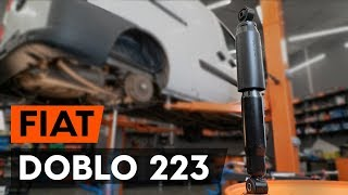Τοποθέτησης Αμορτισέρ πίσω FIAT DOBLO Cargo (223): δωρεάν βίντεο