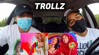 Baixar 6ix9ine & Nicki Minaj - TROLLZ | REACTION REVIEW