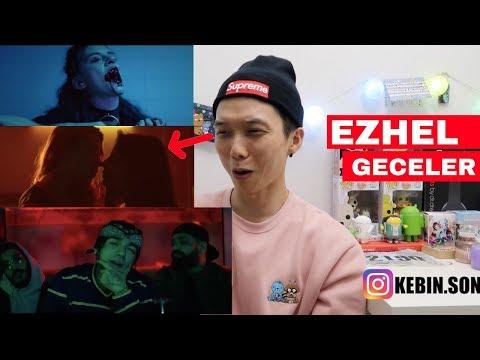 Ezhel - Geceler Reaction | Turkish MV | Korean Kebin Reaction