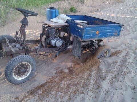 4х колёсный мотороллер муравей (полный обзор)