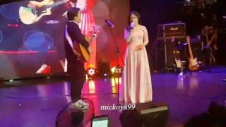 18122016 everything has changed cover by prilly feat kiki cjr mini concert prilly latuconsina