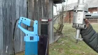 самодельная стойка для дрели из рулевой рейки своими руками