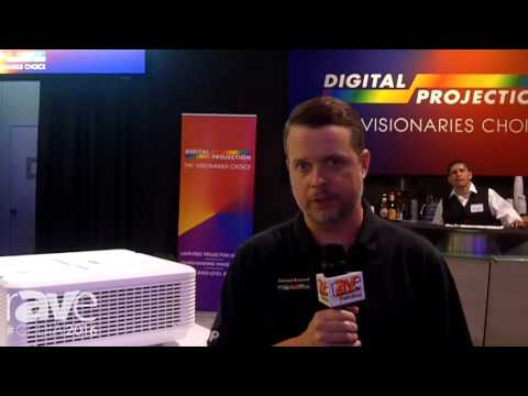 CEDIA 2016: Digital Projection Presents E-Vision 4K Laser Projector