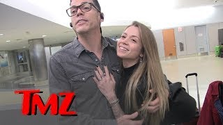 Steve O And New Fiancee Lux Wright Share Ring & Dream Wedding Details | TMZ