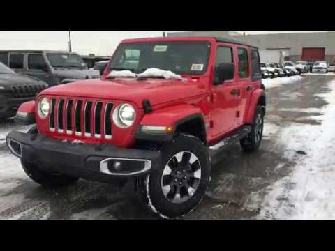 Jeep Wrangler For Sale Ontario >> New 2018 Jeep Wrangler Jl For Sale Toronto Mississauga Brampton Ontario Chrysler