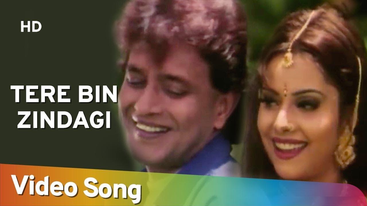 Download Tere Bin Zindagi (HD) | Heeralal Pannalal (1999) | Mithun Chakraborty | Bollywood Romantic Song