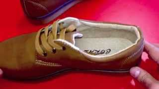 1307 Camel. Мужские классические ботинки. Видео-обзор. Обувенко.com.ua