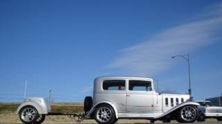 1932 Chevy Touring Hot Rod Sedan & Trailer