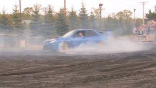 Awesome Subaru STI Burnout!! - Automotion Burnout - Boosted Films