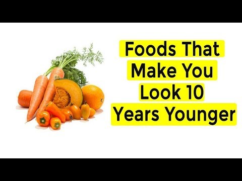 Top Foods That Make You Look 10 Years Younger | Best Anti Aging Foods | Smart Care