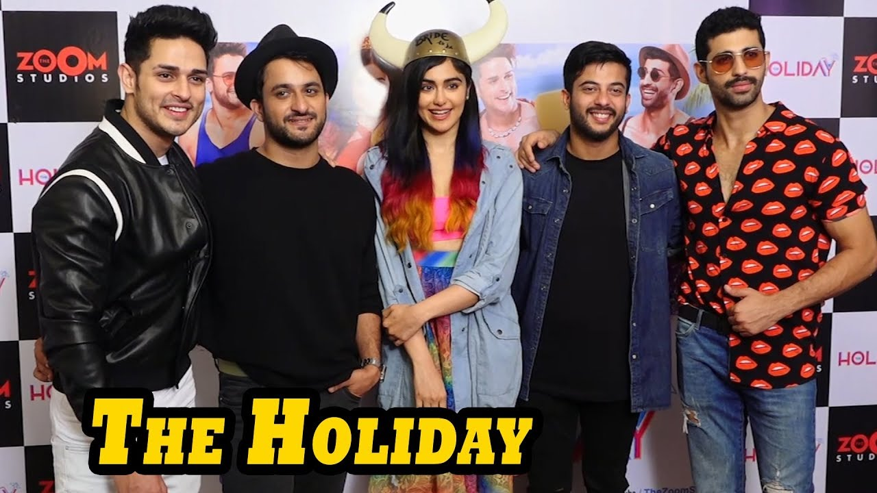 Press Meet Of Web Series The Holiday With Star Cast Youtube