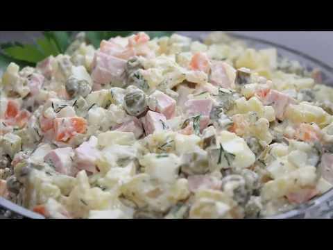 Как приготовить салат оливье правильно