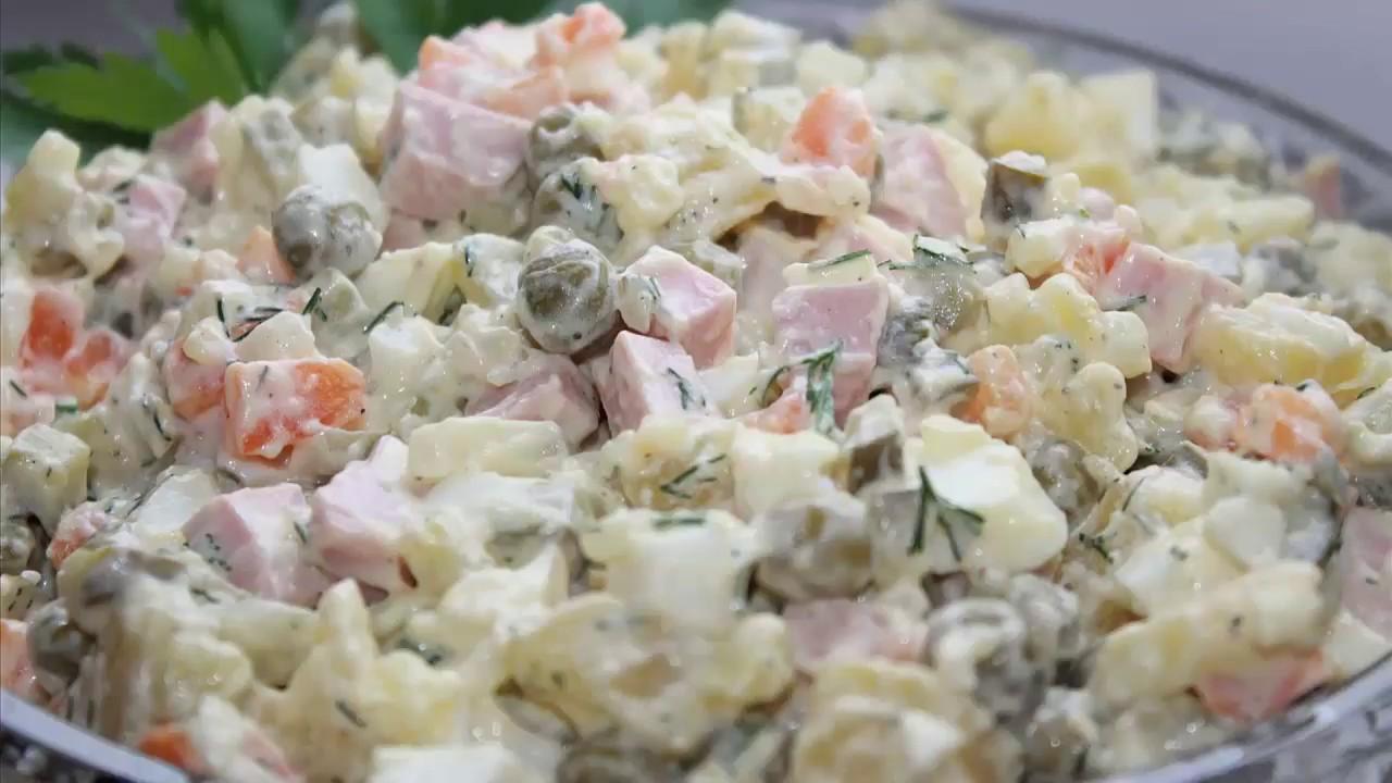 салат оливье рецепты с видео