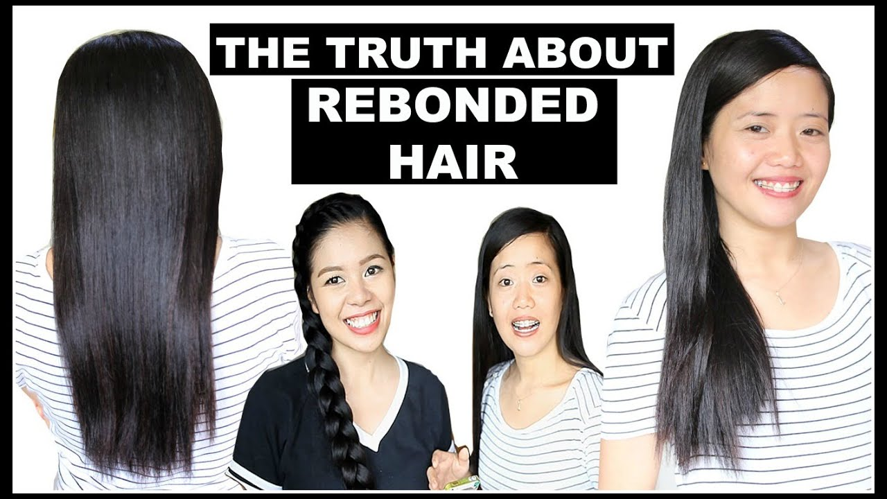 Straight hair perms pros and cons - Pros Cons Of Rebonded Hair Process Maintenance Hair Advice Price Beautyklove Youtube