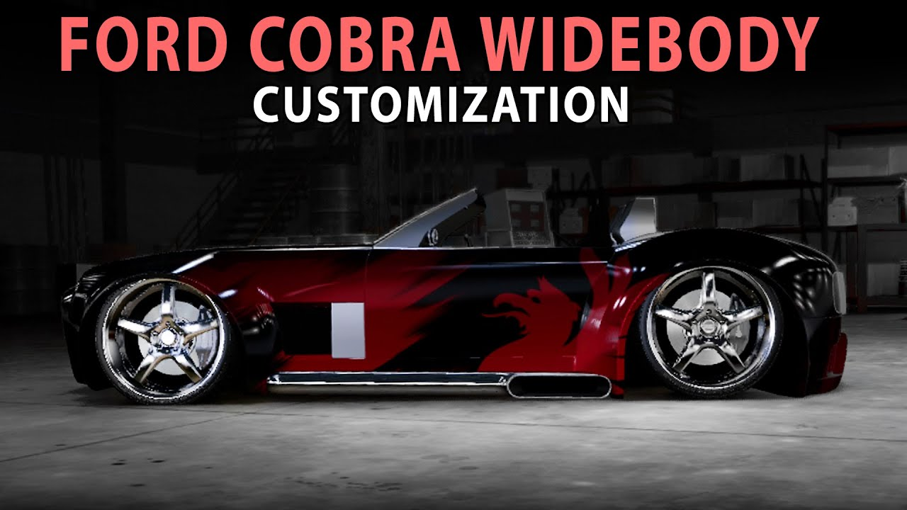Midnight Club LA Ford Cobra Widebody Customization